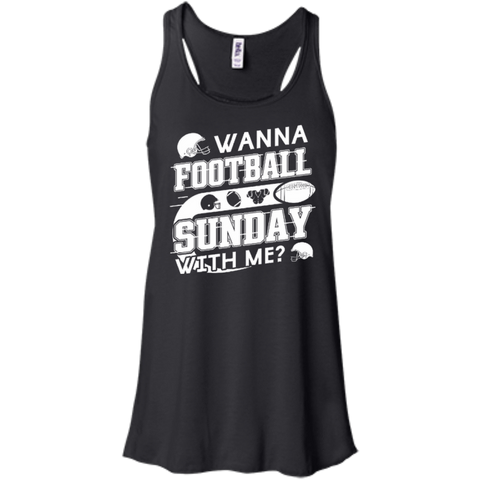 WANNA FOOTBALL SUNDAY WITH ME T-Shirt & Hoodie | Teecentury.com