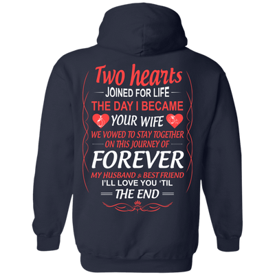 LOVE YOU TILL THE END T-Shirt & Hoodie | Teecentury.com