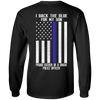I Back The Blue for My Son Police Thin Blue Line For Dad T-Shirt & Hoodie | Teecentury.com