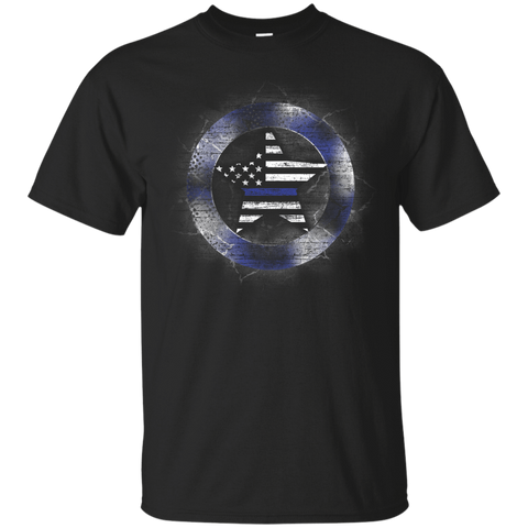 Thin Blue Line Support T-Shirt & Hoodie | Teecentury.com