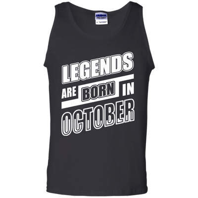 Legends are born in OCTOBER T-Shirt & Hoodie | Teecentury.com