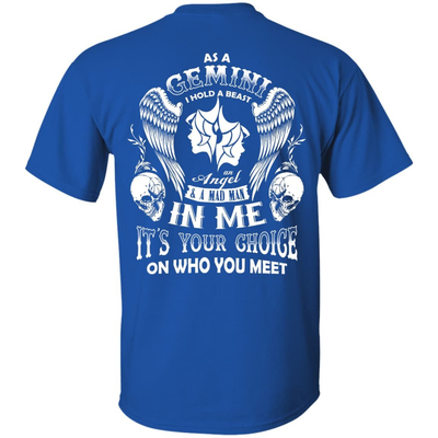 As A Gemini I Hold A Beast An Angel A Madman In Me T-Shirt & Hoodie | Teecentury.com