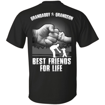 Grandaddy And Grandson Best Friends For Life T-Shirt & Hoodie | Teecentury.com