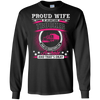 Proud Wife Of An Awesome Trucker T-Shirt & Hoodie | Teecentury.com