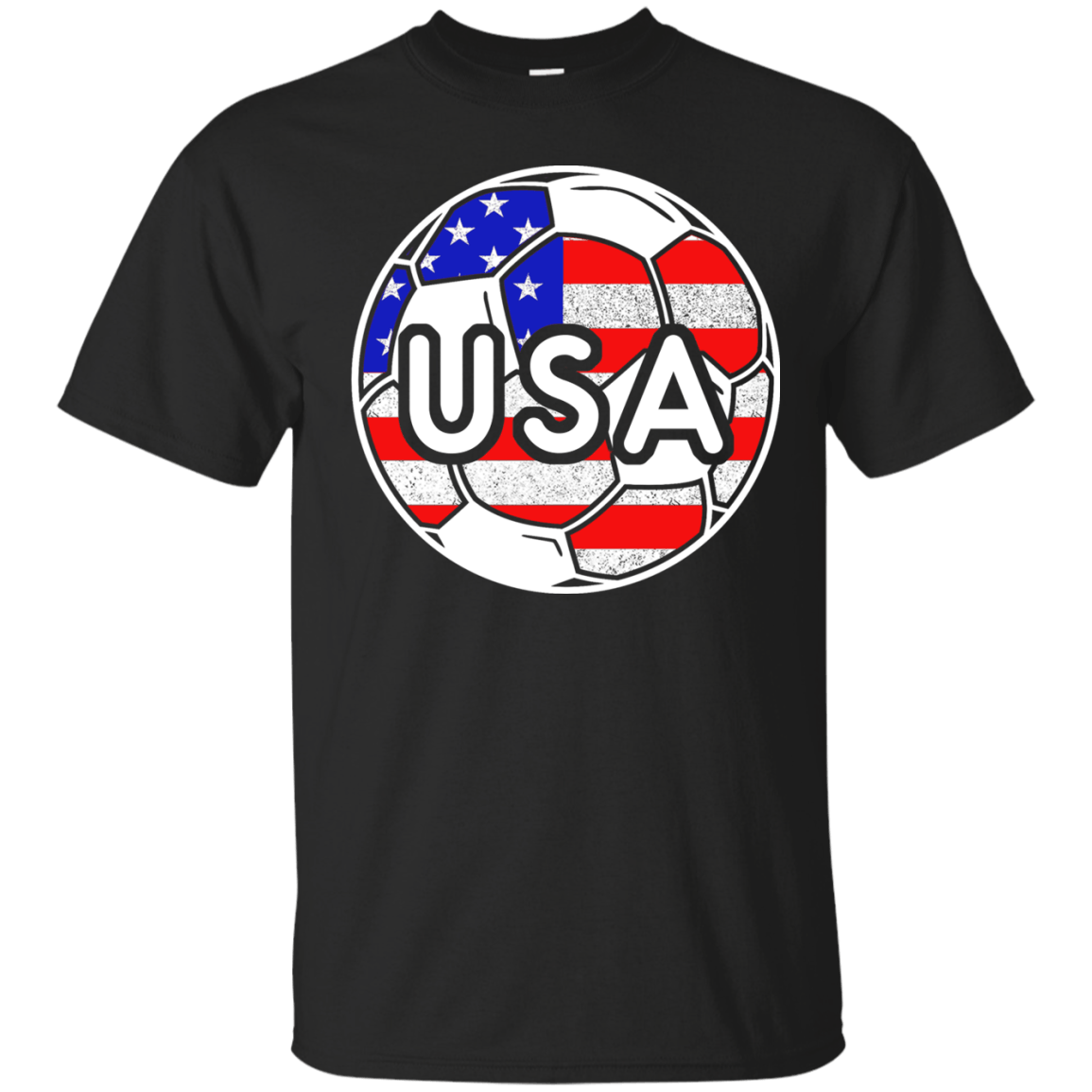 9ad6d8f509d USA Soccer With America Jersey Color National Team T shirt ...