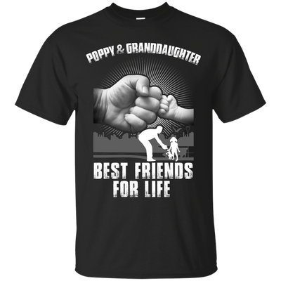 Poppy And Granddaughter best Friends For Life T-Shirt & Hoodie | Teecentury.com