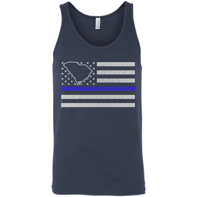 South Carolina Thin Blue Line Police State T-Shirt & Hoodie | Teecentury.com