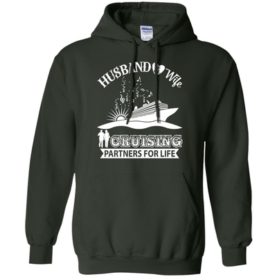 Husband And Wife Cruising Partners For Life T-Shirt & Hoodie | Teecentury.com