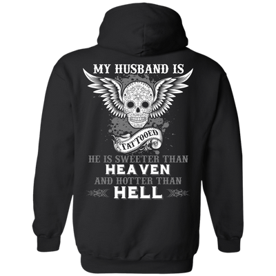 My Husband Is Tattooted T-Shirt & Hoodie | Teecentury.com
