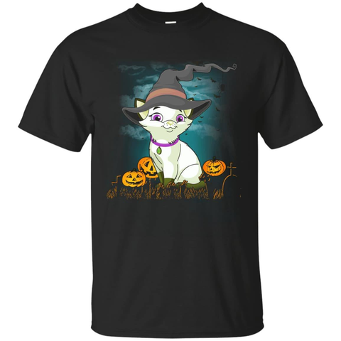 Halloween Cat Lovers T-Shirt & Hoodie | Teecentury.com