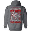 Caution Messing With My Wife Is Dangerous To Your Health T-Shirt & Hoodie | Teecentury.com