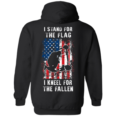 I Stand For The Flag I Kneel For The Fallen T-Shirt & Hoodie | Teecentury.com