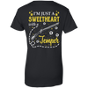 I'm Just A Sweetheart With A Temper T-Shirt & Tank Top | Teecentury.com