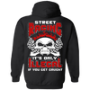 Street Racing It's Only Illegal If You Get Caught T-Shirt & Hoodie | Teecentury.com