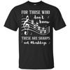 For Those Who Don't Know These Are Sharps Not #Hashtags T-Shirt & Hoodie | Teecentury.com