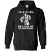 CALM DOWN - IM A SAILOR T-Shirt & Hoodie | Teecentury.com