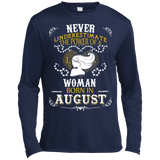 A Woman Born In AUGUST T-Shirt & Hoodie | Teecentury.com