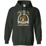 An Old Man Listen To Country Music T-Shirt & Hoodie | Teecentury.com