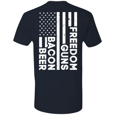Beer Bacon Guns Freedom T-Shirt & Hoodie | Teecentury.com