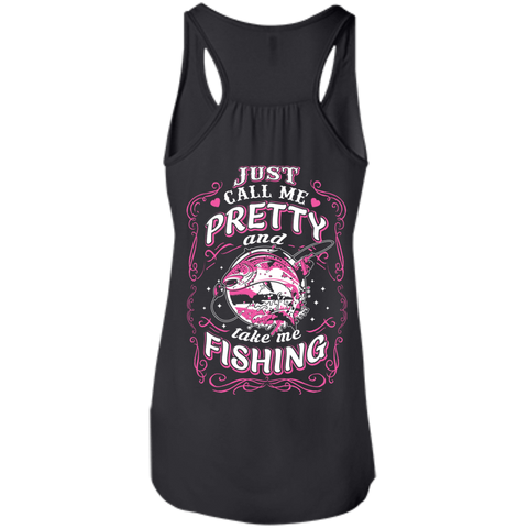 Just Call Me Pretty And Take Me Fishing T-Shirt & Hoodie | Teecentury.com