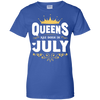 Queens Are Born In July T-Shirt & Hoodie | Teecentury.com