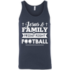 JESUS FAMILY Friday night FOOTBALL T-Shirt & Hoodie | Teecentury.com
