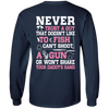 NEVER TRUST A GUY Doesn't Like To Fish T-Shirt & Hoodie | Teecentury.com
