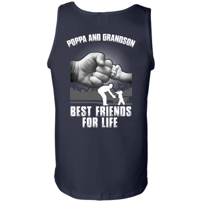 Poppa And Grandson Best Friends For Life T-Shirt & Hoodie | Teecentury.com