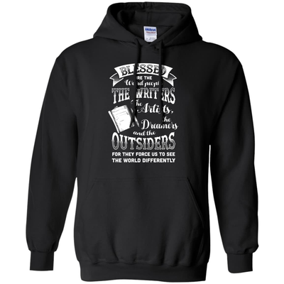 Blessed Are The Weird People The Writers T-Shirt & Hoodie | Teecentury.com