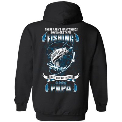 I Love More Them Fishing PAPA T-Shirt & Hoodie | Teecentury.com