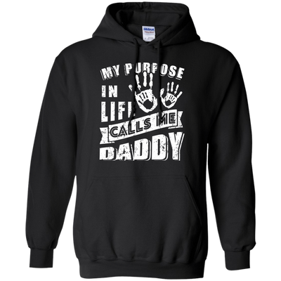 My Purpose In Life Calls Me Dad T-Shirt & Hoodie | Teecentury.com