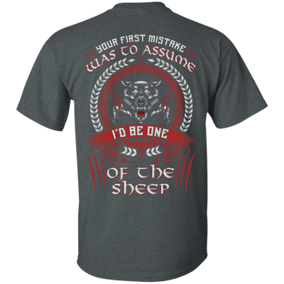 I'd Be One Of The Sheep Wolf Of Odin T-Shirt & Hoodie | Teecentury.com