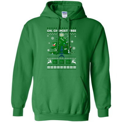 Oh Chemistry Tree Science Christmas Ugly Sweater Gift T-Shirt & Hoodie | Teecentury.com