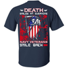 Death Smiles At Everyone Navy Veterans Smile Back T-Shirt & Hoodie | Teecentury.com