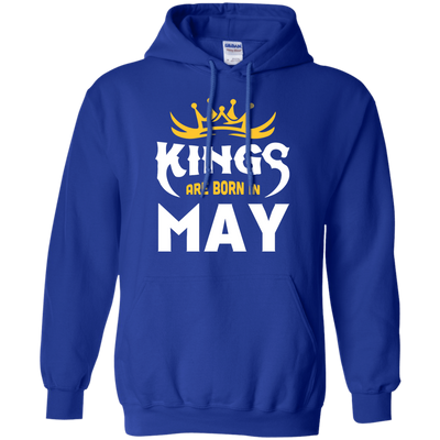 Kings Are Born In May T-Shirt & Hoodie | Teecentury.com