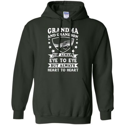 Grandma And Grandson Not Always Eye To Eye T-Shirt & Hoodie | Teecentury.com