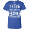 I'm A Proud Daughter In Law Of A Freaking Awesome Mother In Law T-Shirt & Hoodie | Teecentury.com