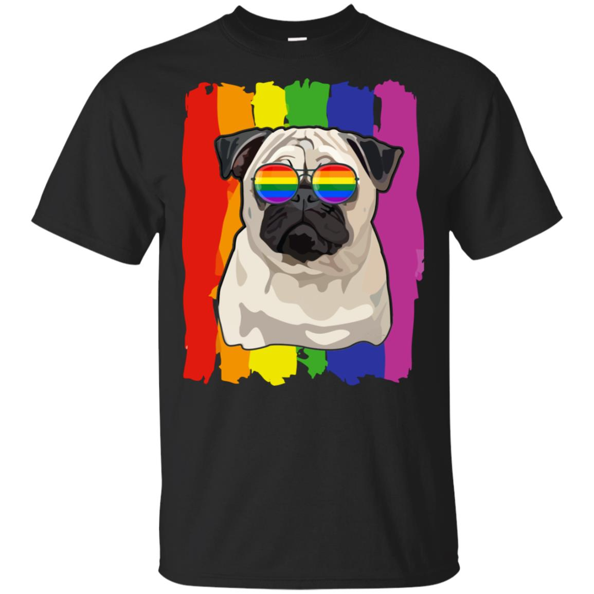 Funny Pug LGBT LGBT Pride Gifts