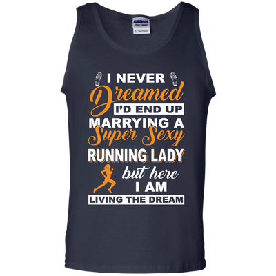 I'd End Up Marrying A Super Sexy Running Lady T-Shirt & Hoodie | Teecentury.com