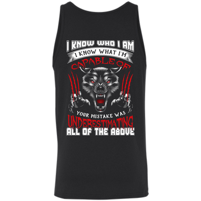 I Know who I Am I Know What I'm Capable T-Shirt & Hoodie | Teecentury.com