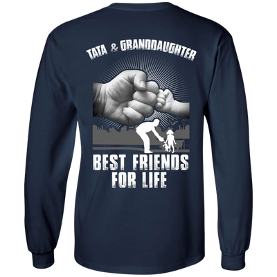 Tata And Granddaughter Best Friends For Life T-Shirt & Hoodie | Teecentury.com