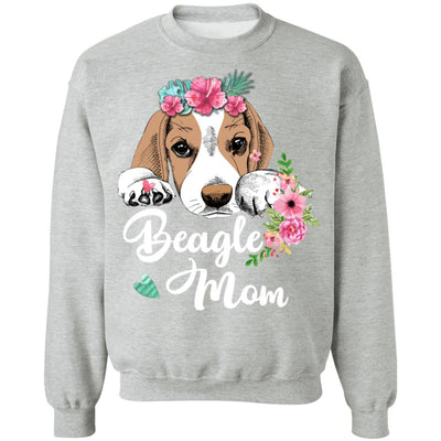 Beagle Mom Funny Dog Mom Gifts T-Shirt & Sweatshirt | Teecentury.com