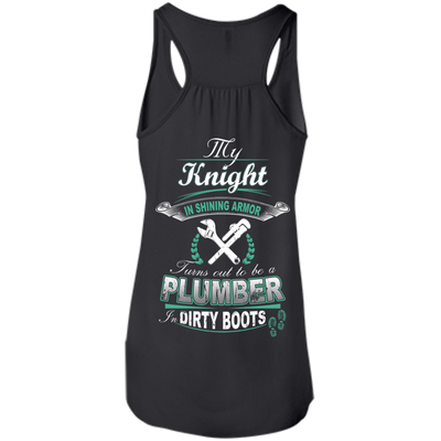 Turns out to be a PLUMBER In Dirty Boots T-Shirt & Hoodie | Teecentury.com