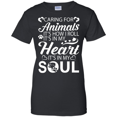 Caring For Animals Light T-Shirt & Hoodie | Teecentury.com