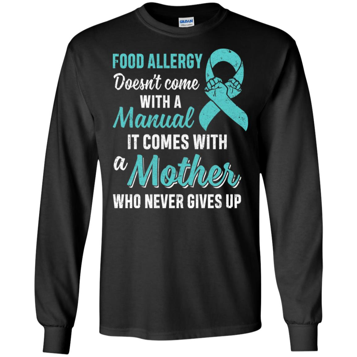 Funny Gift Food Allergy Mom Awareness Warrior