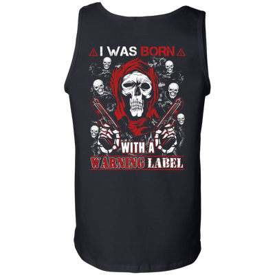 I Was Born With A Warning Label T-Shirt & Hoodie | Teecentury.com