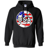 USA Soccer With America Jersey Color National Team T-Shirt & Hoodie | Teecentury.com
