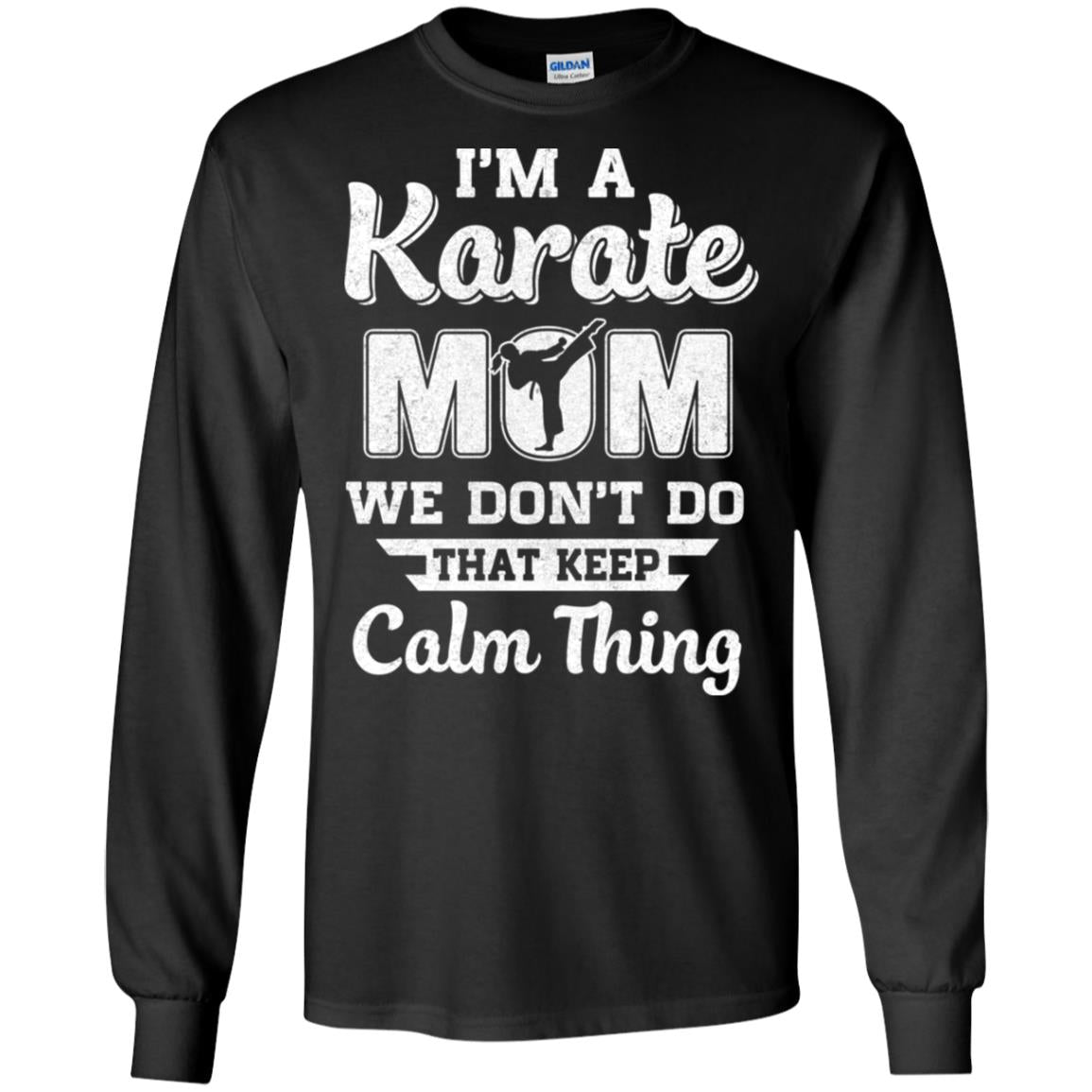 Funny Karate Mom Fighting Kyokushin Gifts