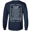 For My Dad In Heaven T-Shirt & Hoodie | Teecentury.com