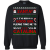 Santa I've Been A Good Girl Please Take Me To Catalina T-Shirt & Hoodie | Teecentury.com